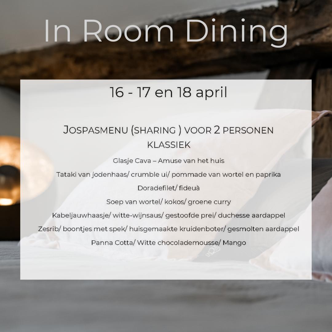 In room dining – B&B Weselo
